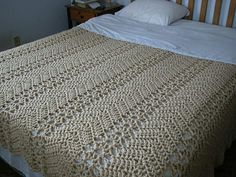 Diagonal bedspread free vintage pattern each block is approx 11 alice brans posted grandmas lacy ripple afghan to their crochet ideas and tips postboard via the juxtapost bookmarklet dt1010fo