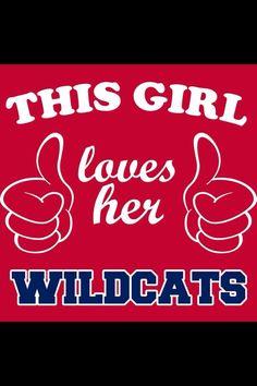 LOVE my Wildcats!!! #BearDown