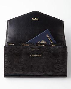 H75U3 NM EXCLUSIVE Black Travel Wallet