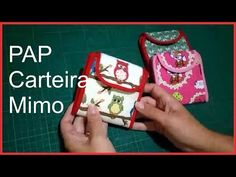 Passo a Passo carteira Mimo. - YouTube Mochila Tutorial, Pouch Tutorial, Sewing Crafts, Sewing Projects, Diy Purse, Little Bag, Patches, Couture, Make It Yourself