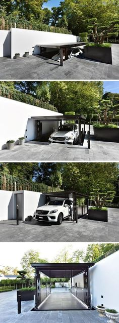 If you want to have a garage, but don't want to it seen, IdealPark Car Lifts have come up with personal underground invisible parking.