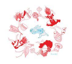 Down The Rabbit Hole-ArtPrint-SasandYosh 1