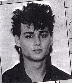 Check Out 19-Year-Old Johnny Depp Playing Guitar! (Click through to see the video).