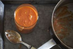 Tomato Sauce with Onion and Butter (Marcella Hazan) (50 Most Influential Women in Food, #6).