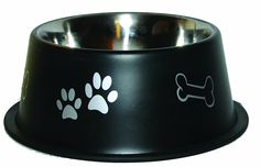 OmniPet Jumbo Non Tip Dog Bowl, 32 oz., Black ** Find out more about the great product at the image link. (This is an affiliate link and I receive a commission for the sales)