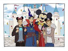 It was Tony, not little Peter, who bought Strange the wizard hat. Funny Marvel Memes, Marvel Jokes, Avengers Memes, Funny Comics, Disney Marvel, Marvel Art, Marvel Avengers, Marvel Comics, Stucky