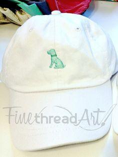 KIDS Mini Design Baseball Cap Hat Leather Strap by finethreadart