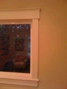 simple window trim