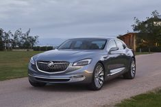 Another view of the beautiful Buick Avenir concept