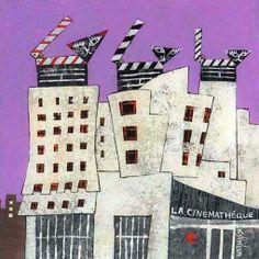 Rie Nezu - 街まちの猫たち/2007 「シネマの猫/ Cinema Cats in Paris 」