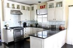 U Shape Kitchen Renovations Picture Of Affordable White