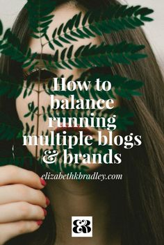 Are you a multipassionate coach that's running multiple blogs & brands, or considering creating a new one? Learn how I balance running 4 blogs without going cray cray.