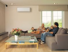 Bob's Tip of the Day: Mini-split systems consist of two main components: a condenser/compressor unit that sits outside, and one or more air handlers that distribute cooled air indoors. The components are connected by wiring and a conduit for refrigerant. The benefits of a mini-split? Unlike a window air conditioner, a mini-split is controlled via a thermostat, and it won't block a window. A mini-split cools a particular room (or rooms) and can be shut off as needed to save energy.