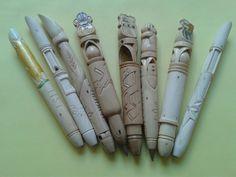Carving pens handmade