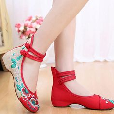2eff38cf1d2 Women Sport Jazz Dance Shoes Ladies Girls Embroidery Fitness Latin Dancing Shoes  Women Indoor Dance Sneakers