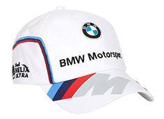 BMW Motorsports M-Power Men's White Team Hat with Puma Logo on Brim