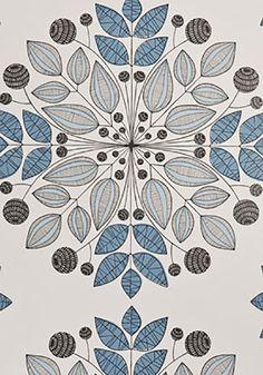 Miss Print - Kaleidoscope Blue Wallpaper