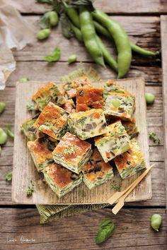 Clafoutis cu legume | Retete culinare Laura Adamache