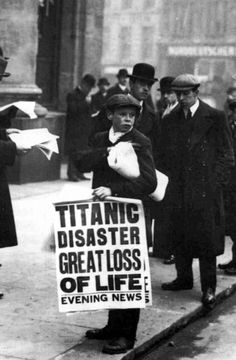 U.S. News of the Titanic Disaster in 1912