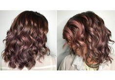 Chocolate mauve: a próxima cor de cabelo que vai bombar