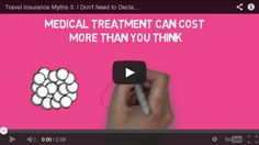 Many people think that if their medical condition is controlled by medication there is no need to declare it when they buy travel insurance, find out why this isn't the case.