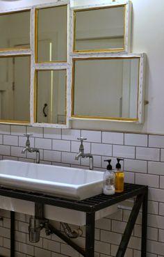 Tuesday Tips - DIY Canvas Mirror
