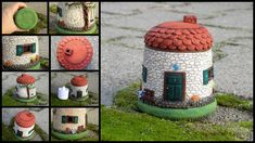 Candle lantern litlle house by Polymeranna.deviantart.com on @DeviantArt