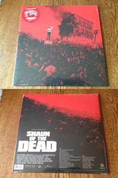 Music Albums: Rare Shaun Of The Dead Limited Edition Strawberry Swirl Vinyl Lp Shawn Mondo BUY IT NOW ONLY: $99.99