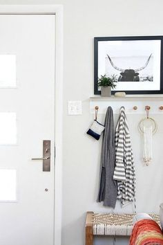 DIY Entryway Ideas: Hooks, Shelves, Seats, and More