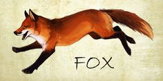 I want this to be my next tattoo. DeviantART.com fox scetch.