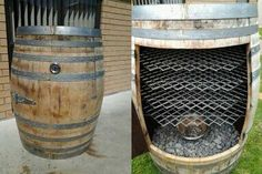 Barrel smoker