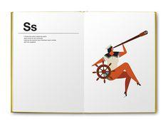 'alphabetics' | book for kids | little gestalten on Behance