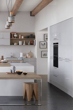 Kitchen Collection, Traditional Kitchen, White Light, Kitchen Design, Contemporary, Park, Table, Furniture, Home Decor