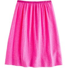 J.Crew Collection pink shimmer skirt ($180) found on Polyvore