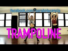 Dance Fitness with Sarah Placencia - Trampoline