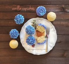 Easy eggless vanilla cake and cupcakes with step by step tutorial . Perfect for any occasion . It's the best ,moist ,light and fluffy treat for you.