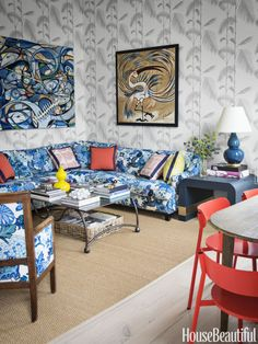 Chinoiserie Chic: The Chinoiserie Sectional