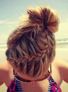 Summer time fun hair