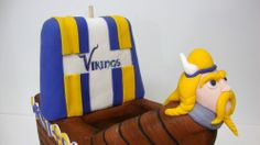 Minnesota Vikings - Birthday Cakes - TipsyCake Chicago