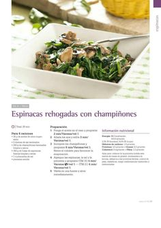 by markosxxx - issuu Kitchen Dishes, Sin Gluten, Finger Foods, Make It Simple, Healthy Recipes, Healthy Meals, Cabbage, Vegetables, Cooking