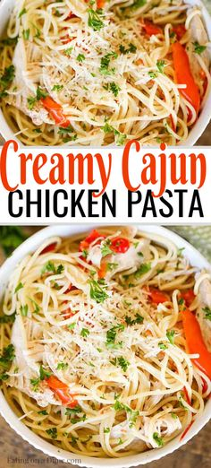 Crock Pot Creamy Cajun Chicken Pasta Recipe