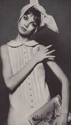 Jean Shrimpton photographed by David Bailey for Vogue 1964