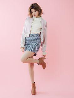 ダズリン|dazzlin公式ファッション通販|ランウェイチャンネルのアウター(ブルゾン)【sw】リバーシブル刺繍ブルゾンならRUNWAY channel(ランウェイチャンネル)。ダズリン|dazzlin公式ファッション通販|ランウェイチャンネルの新作からセールまで公式通販サイトならではの豊富な在庫!雑誌掲載や有名人着用商品も多数!