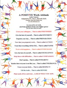 Inspirational Quotes about Work : A Positive Work Attitude this could easily be adapted for school. Positive Quotes For Work, Positive Attitude, Positive Thoughts, Motivational Quotes For Workplace, Positive Workplace Quotes, Work Attitude Quotes, Environment Quotes, Positive Work Environment, Teamwork Quotes