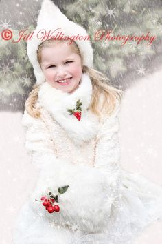 For Photographers: Adding Snow for Christmas Portraits