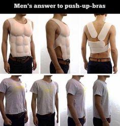 push up bra for man