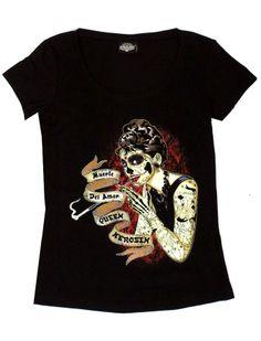 Muerte del Amor - Rockabella Shirts - Vintage-Style - Queen Kerosin