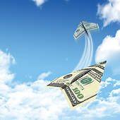 dollar bills flying - Google Search