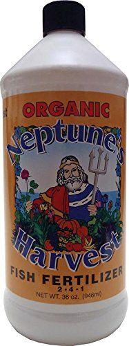 Neptune's Harvest Hydrolyzed Fish Fertilizer 2-4-1 36oz