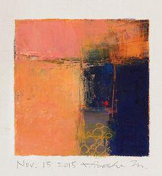 nov152015 by Hiroshi Matsumoto Via Flickr: Oil on canvas 9 cm x 9 cm © 2015 Hiroshi Matsumoto www.hiroshimatsumoto.com